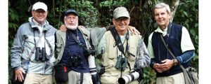 Four Eugene birders