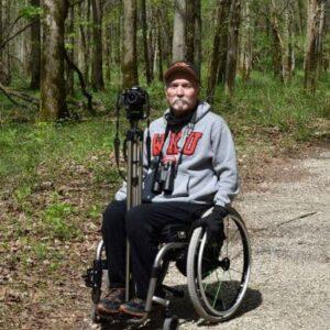 bider in wheelchair