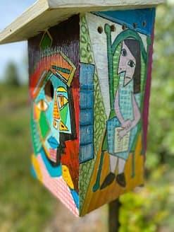 Art In Nest Box